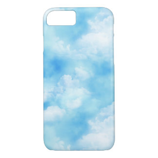 In the Clouds Pattern iPhone 7 Case