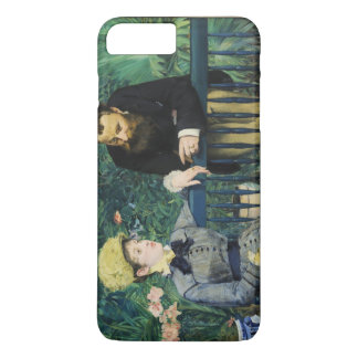 In the Conservatory by Edouard Manet in 1879 iPhone 7 Plus Case