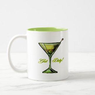 In The Dirt Two-Tone Coffee Mug