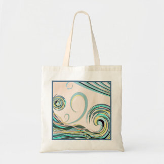 In the Drink Pastel Wave Tote Bag