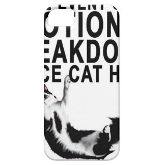 In the event of an EMOTIONAL BREAKDOWN Place CAT iPhone 5 Cover