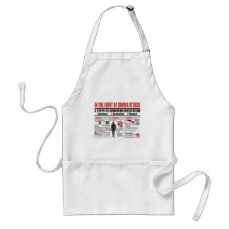 In The Event of Zombie Attack APRON