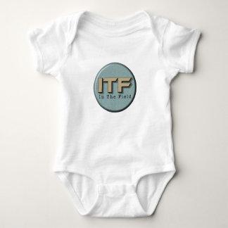 In The Field logo Baby Bodysuit
