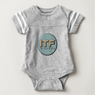 In The Field logo Baby Bodysuit