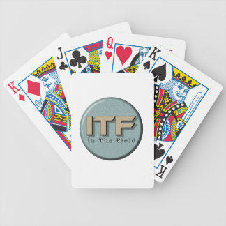 In The Field logo Bicycle Playing Cards