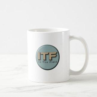 In The Field logo Coffee Mug
