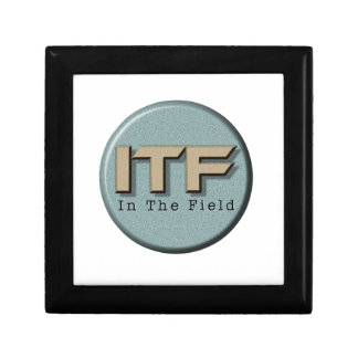 In The Field logo Gift Box