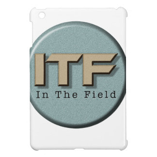 In The Field logo iPad Mini Covers
