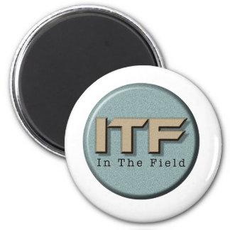 In The Field logo Magnet