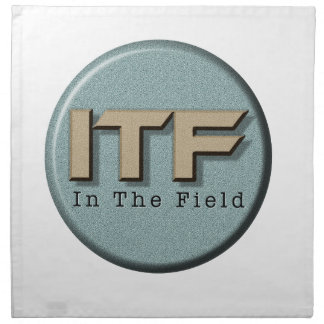In The Field logo Napkin