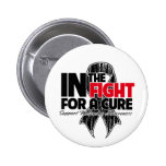 In The Fight For a Cure - Melanoma 6 Cm Round Badge