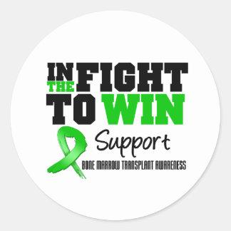 In The Fight To Win - Bone Marrow Transplant Stickers