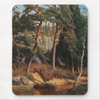 """In The Forest"" mousepad"