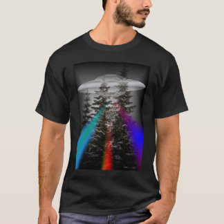 IN THE FOREST - UFO T-Shirt