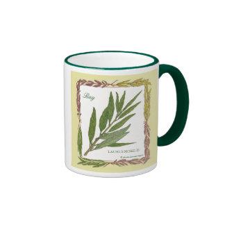 In the Garden ~ Bay Leaf Mug