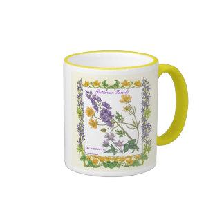 In the Garden ~ Buttercup Family Mug