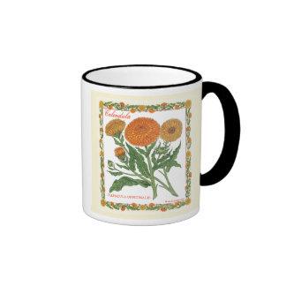 In the Garden ~ Calendula Mug