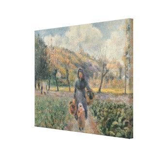 In the Garden Gallery Wrap Canvas
