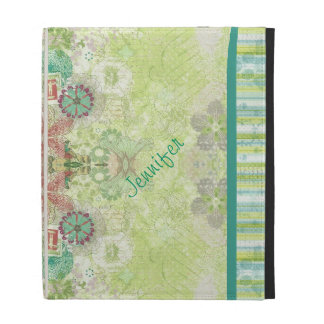 In the garden iPad folio cases