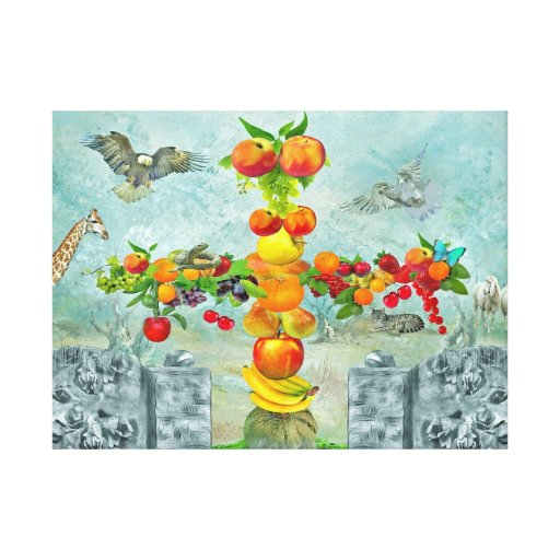 In the garden Eden… Gallery Wrap Canvas