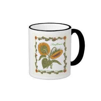 In the Garden ~ Sunflower Mug