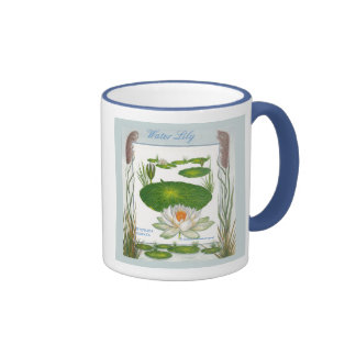 In the Garden ~ Water Lily Mug