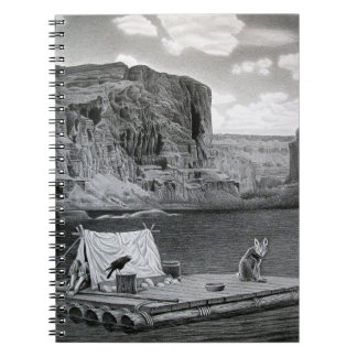 IN THE GRAND CANYON SPIRAL NOTEBOOK