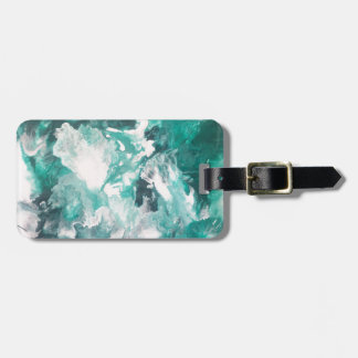 In the Green Luggage Tag