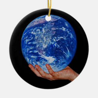 In the hand of God Christmas Ornaments