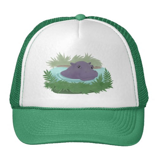 In the Hippo Pond Hat