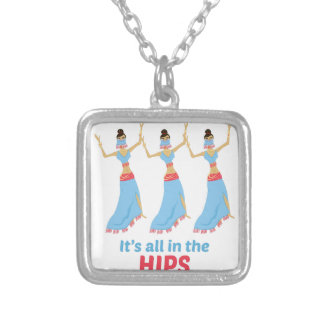 In The Hips Silver Plated Necklace