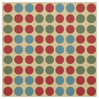 In the Kitchen Polka Dot Circles Fabric