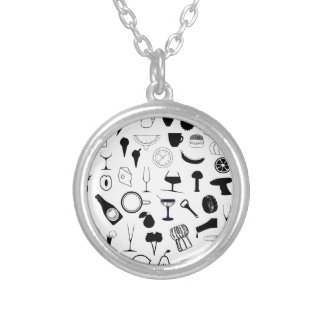 In The Kitchen Silver Plated Necklace