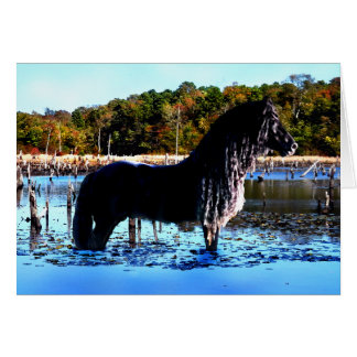 """In The Marsh"" Greeting Card"