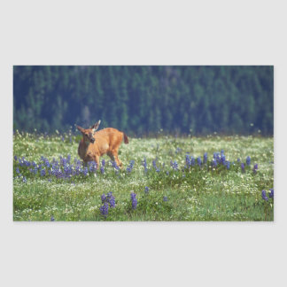 In the Meadow Rectangular Sticker
