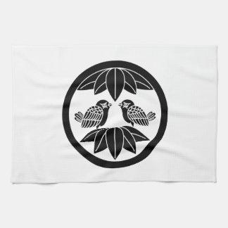 In the medium flower opposite it is in ten bamboo tea towel