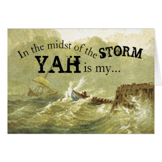 In the Midst of the Storm Encouragement Card