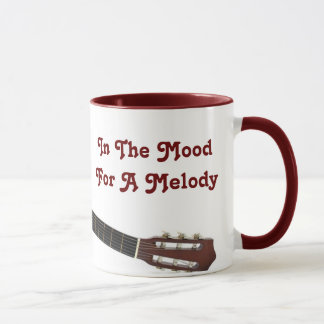 In The MoodFor A Melody Guitar Mug