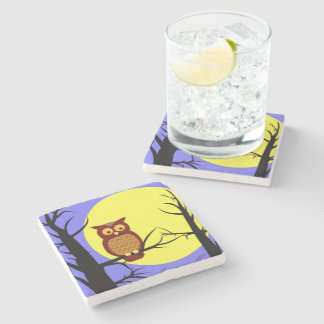 In the Moonlight Stone Coaster