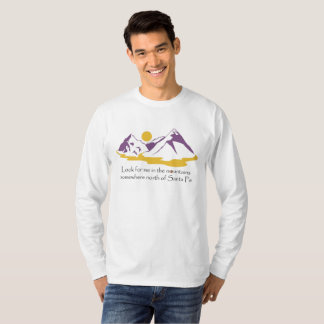 In The Mountains Men's Long Sleeve Tee