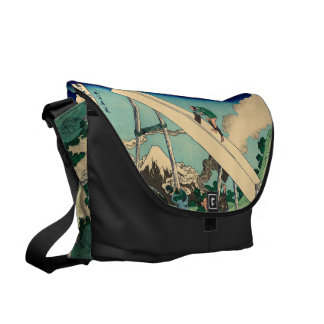 In the Mountains of Totomi Messenger Bags