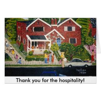 In the Neighborhood, Greeting Card