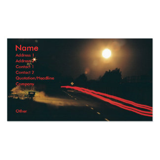 In The Night Business Cards