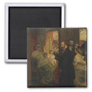 In the Opera House, 1862 Square Magnet