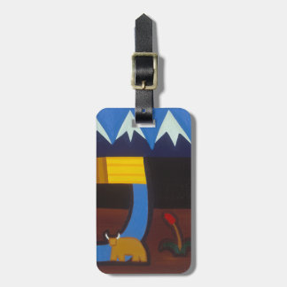 In the Peruvian Mountains 2006 Luggage Tag