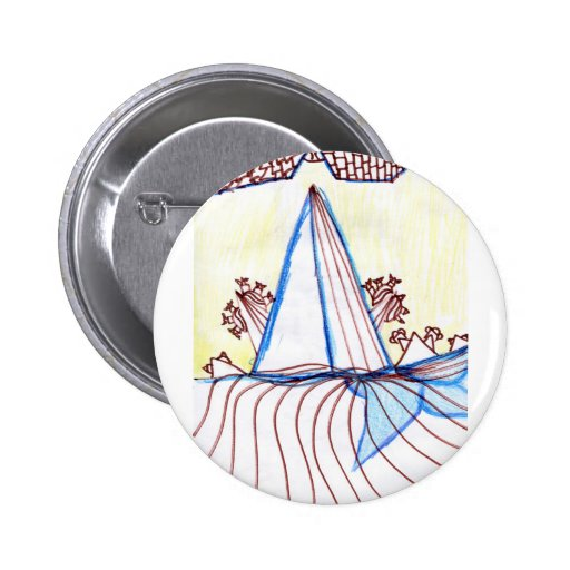 In the Planes of Pattern Dance Pinback Buttons