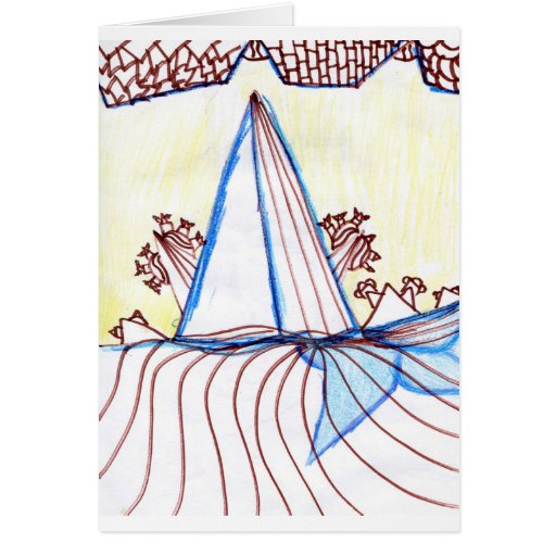 In the Planes of Pattern Dance Greeting Cards
