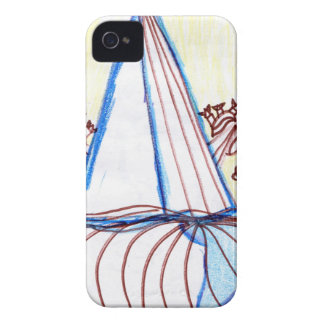In the Planes of Pattern Dance iPhone4 Case
