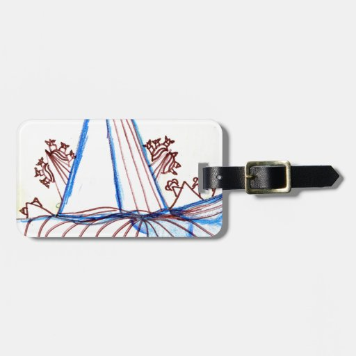 In the Planes of Pattern Dance Bag Tags