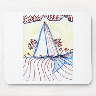 In the Planes of Pattern Dance Mouse Pad